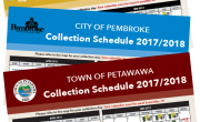picture of 3 collection schedules