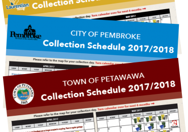 2017/2018 Collection Schedules