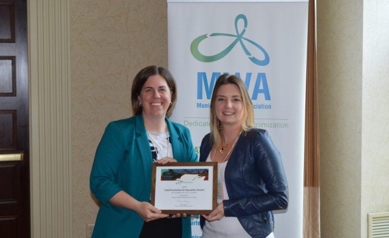 OVWRC receiving award from MWA