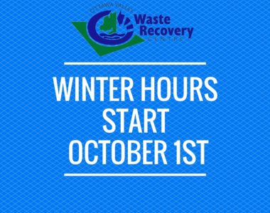 Winter Operating Hours