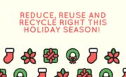 Reduce reuse recycle right this holiday season