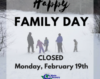 Holiday Operating Hours – Family Day