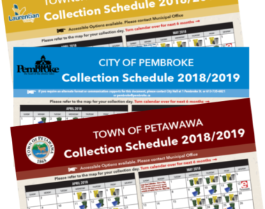 New Collection Schedules!