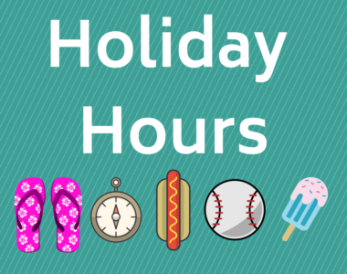 Civic Holiday Hours