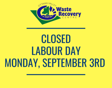 Labour Day Holiday Hours
