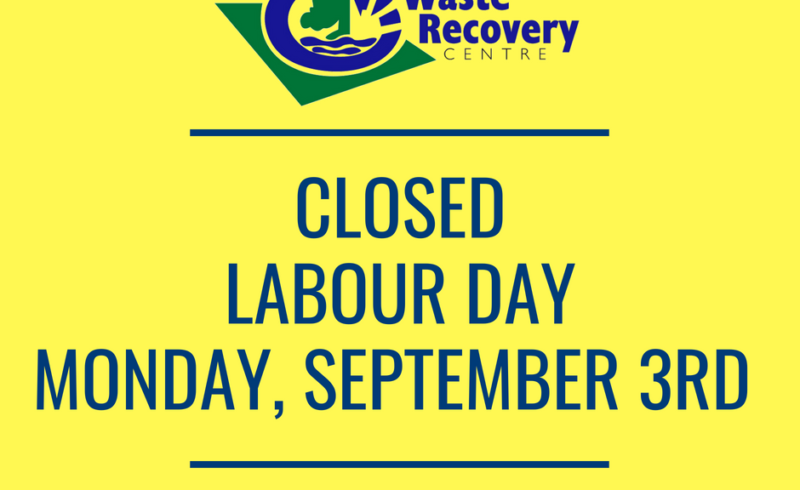 yellow background with text closed labour day Monday september 3