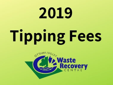 2019 Tipping Fees