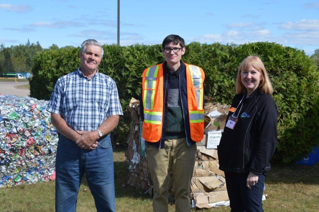 former Laurentian Valley Mayor Jack Wilson with OVWRC staff