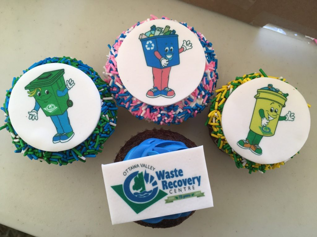 cupcakes that were especially made for OVWRC