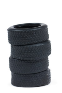 stack of 4 tires