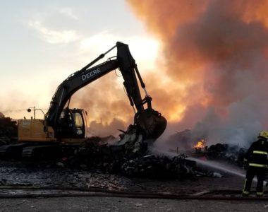 Landfill Fire Update