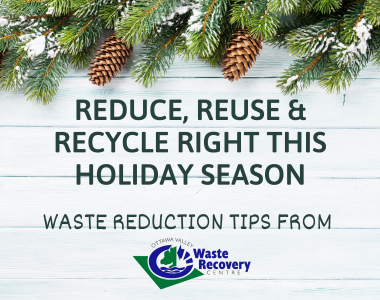 Reduce Your Waste Over the Holidays