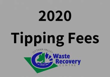 2020 Tipping Fees