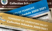 collection schedules for petawawa pembroke and laurentain valley
