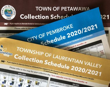 Collection Schedules