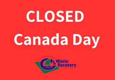 Closed Canada Day