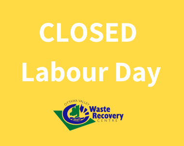 CLOSED Labour Day