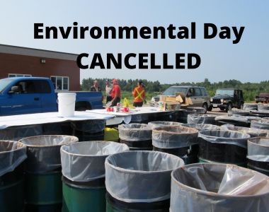Environmental Day Cancelled