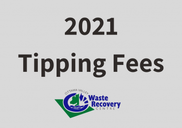 2021 Tipping Fees