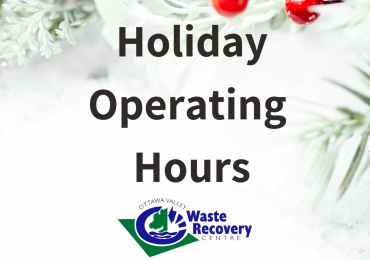 Holiday Operating Hours
